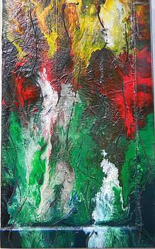 Flamme by Gilberte Figaroli