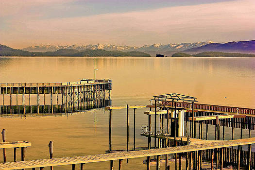 Flathead Lake III by William Kelvie
