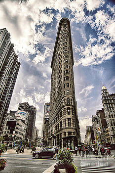 Flatiron from the Point by Vicki DeVico