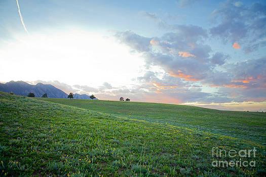 Flatiron Sunset by Barbara Schultheis