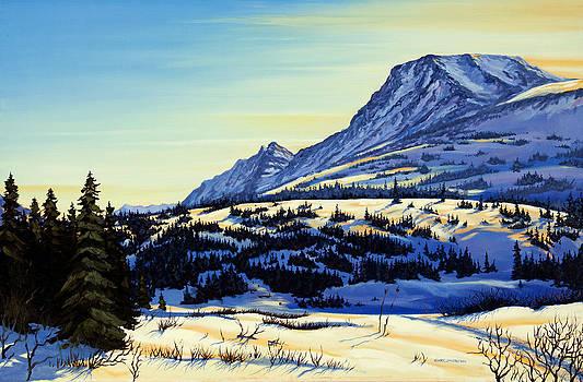 Flattop Winter by Kurt Jacobson