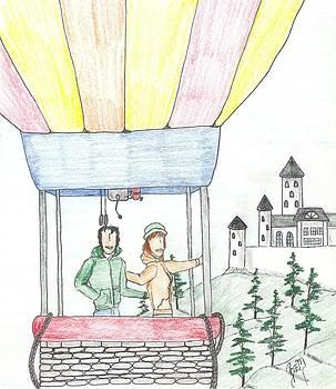 Robert Meszaros - flight of fancy no. two - sketch