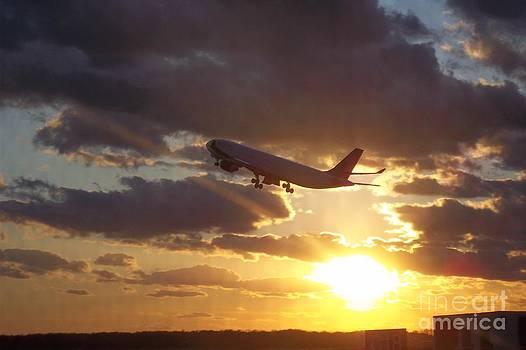 Flight to No Ware by Ava Hawk