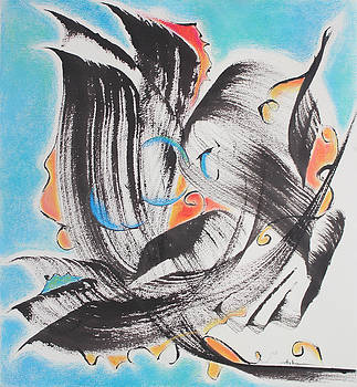 Flight Toward Blue by Asha Carolyn Young