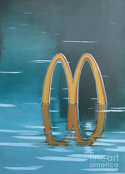Flood Flood McDonald's by Inlk Lee