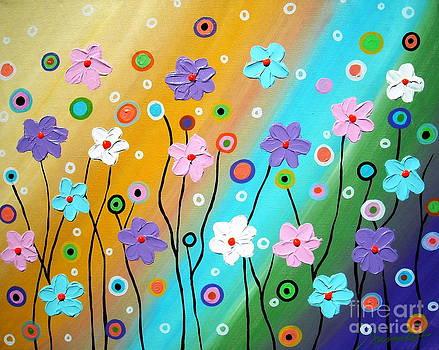 Floral Fest by Pristine Cartera Turkus