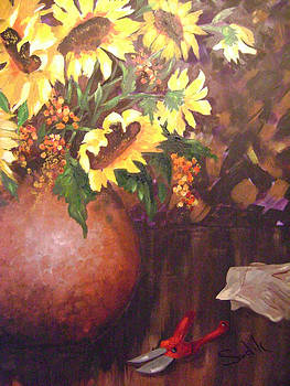 Floral Sunshine by Barbara Sudik