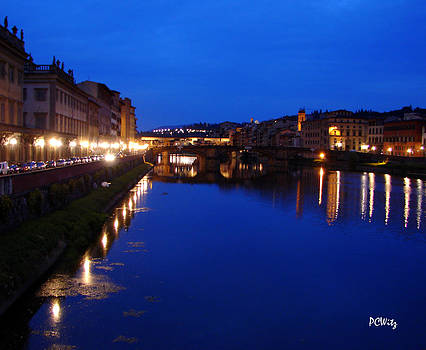 Patrick Witz - Florence Arno River Night