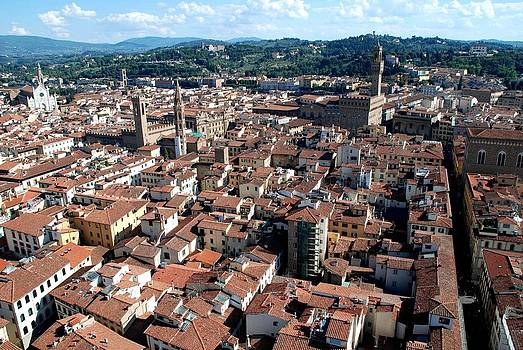 Florence from above by Dany Lison