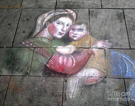 Gregory Dyer - Florence Italy Street Chalk Art - 01