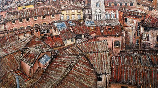 Florence roofs by Vladimir Kezerashvili