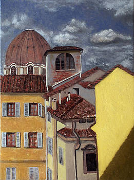 Florence view by Vladimir Kezerashvili