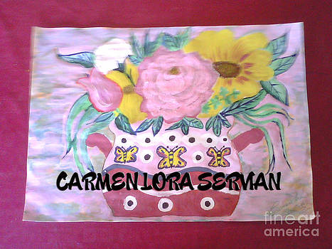 Flores by Mary Carmen Lora Servian