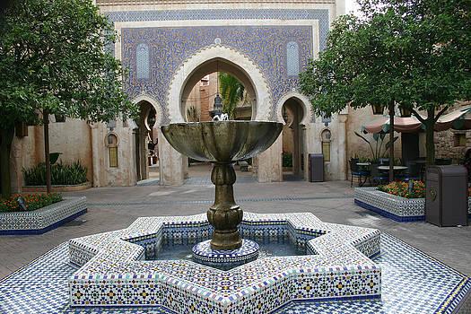 Nina Fosdick - Florida Fountain