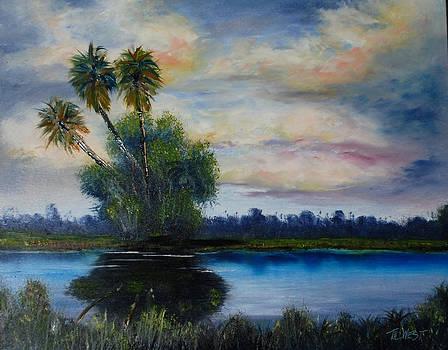 Florida Hammock II by Terri West