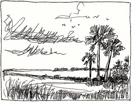 Florida Horizon by Michele Hollister - for Nancy Asbell