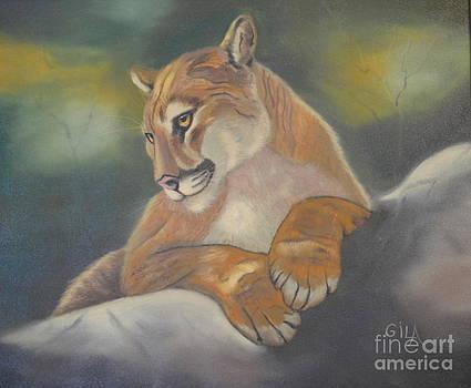 Florida Panther by Gila Churba