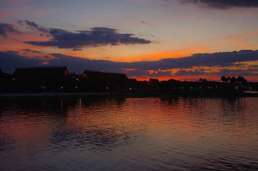 Florida Sunset by Thomas  MacPherson Jr