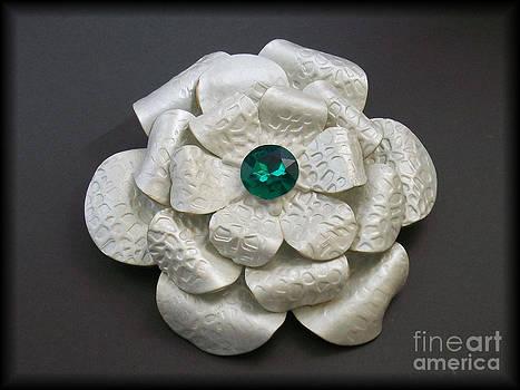 Flower Brooch by Aisha Sims