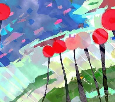 Flower Field by Mimo Krouzian