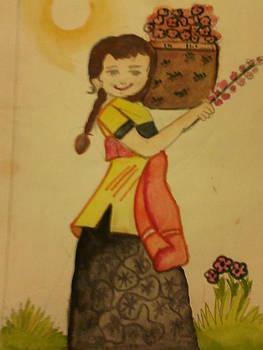 Flower Girl by Amisha Tripathy