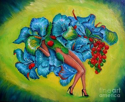 Flower Girl  by Osborne Lorlinda