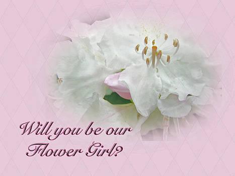 Mother Nature - Flower Girl Request - White Azalea