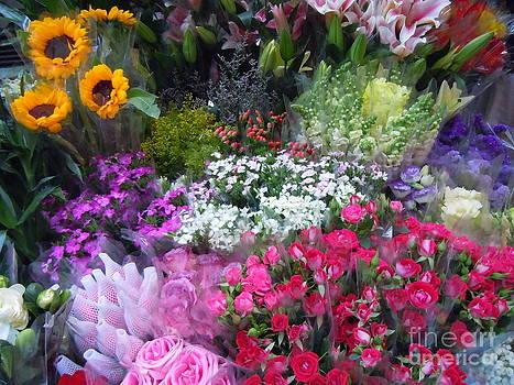 Flower Market by Lam Lam