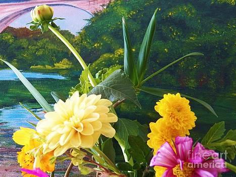 Judy Via-Wolff - Flower River Island