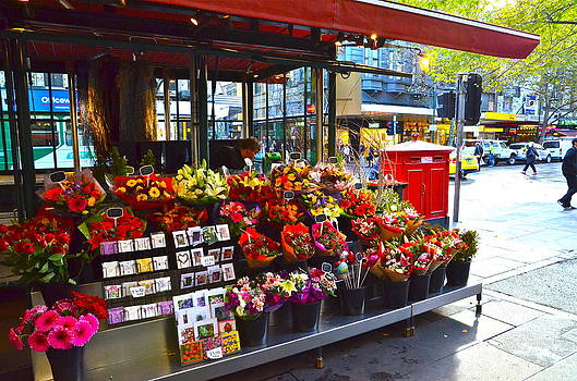 Flower Shop in Aussie by Andy Yoon
