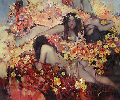 Flower Wild  by Svetlana Tiourina