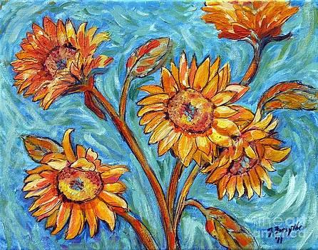 Flowers for Van Gogh by Jeanne Forsythe