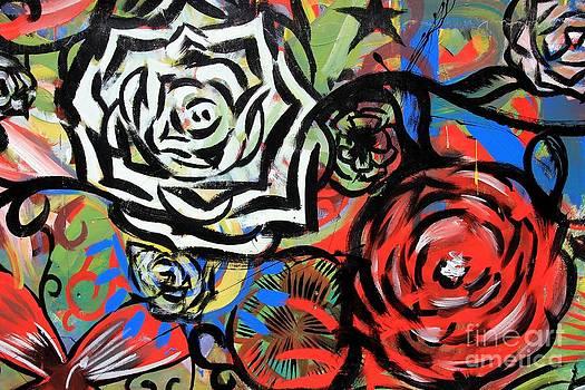 Sophie Vigneault - Flowers Graffitis