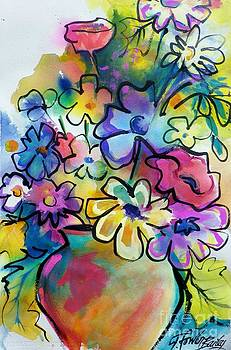 Flowers That Pop Art by Therese Fowler-Bailey