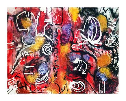 Flows Graffiti by Graciela Scarlatto