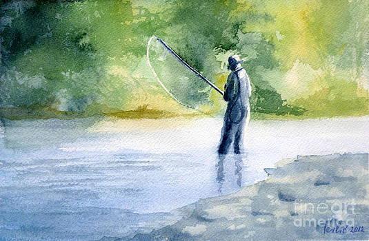 Flyfishing by Eleonora Perlic