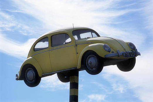 Flying VW Beetle by Alex Hinds