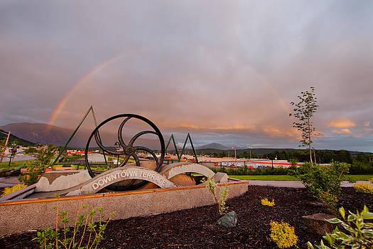 Flywheel and Rainbow by Brandon Broderick