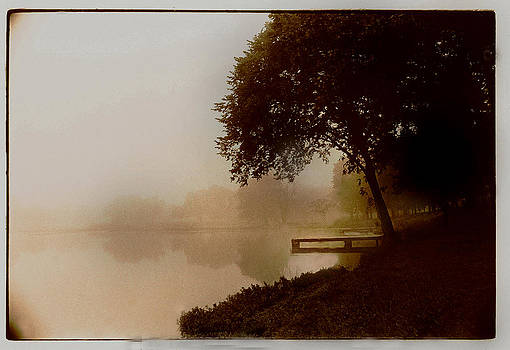Fog In Sepia by JDon Cook