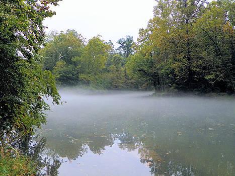 Suzie Banks - Fog on the Watauga River