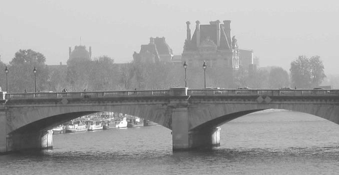 Fog Over Paris by Len Yurovsky