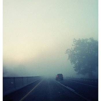 Foggy Drive by Mark Diefenderfer