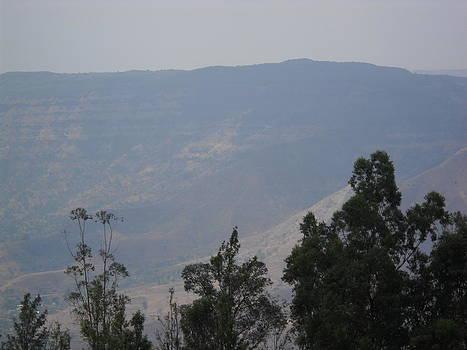 Foggy Mountain by Bgi Gadgil
