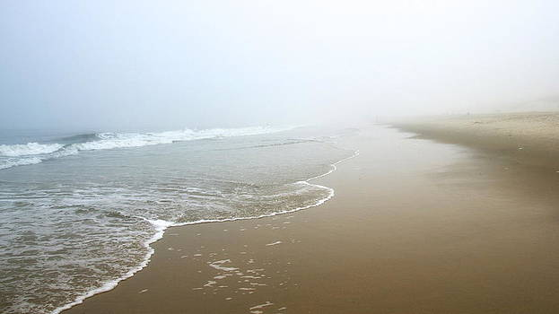 Foggy Shore by Jayne Howard