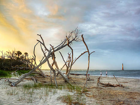 Folly Beach Fishing  by Jenny Ellen Photography