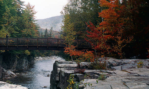Foot Bridge in New Hampshire by Jason Lane