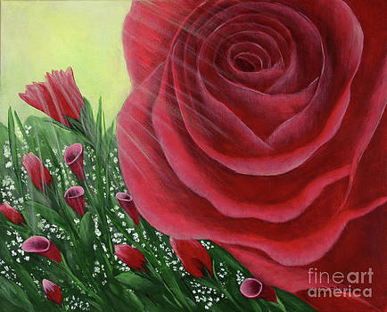For the Love of Roses by Kristi Roberts