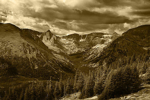 Forest Canyon Rocky Mountain National Park by Daniel Chui
