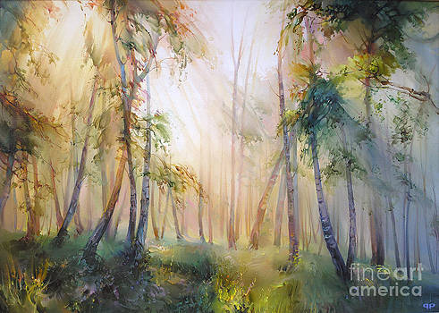 Forest fairy tale by Roman Romanov