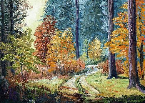 Forest I by Stanislav Zhejbal